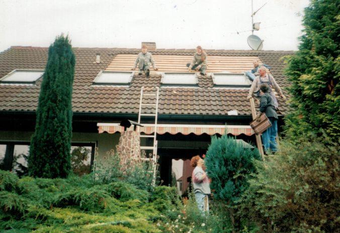 Diese vor 25 Jahren installierte Solarthermie-Anlagen ist der Auslöser des Fotowettbewerbs.