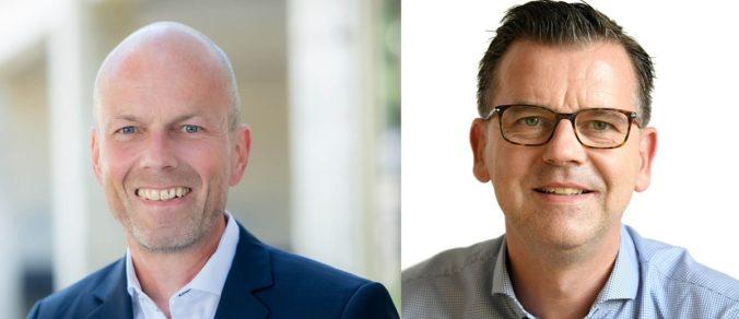 Zu sehen sind Christian Stadler und Peter Eijbergen, die sich um Solarthermie Großanlagen bei Viessmann kümmern.