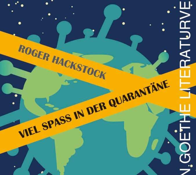 Cover Gedichtband Roger Hackstock