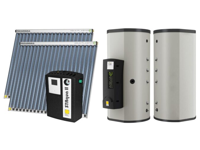Paradigma bietet Paketlösung für Sanierung mit Solarthermie an. Foto: Paradigma