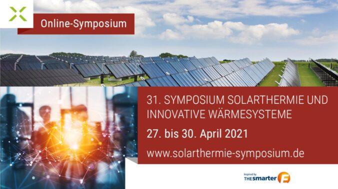 Symposium Solarthermie und Innovative Wärmesysteme findet online statt.