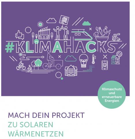 Zu sehen ist das Cover der #Klimahacks-Ausgabe No. 7