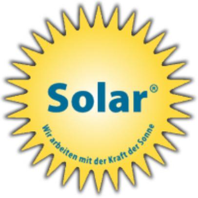 Zu sehen ist das Logo der SOlar Labels.